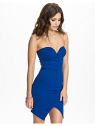 Oh My Love Bandeau Notch Front Dress