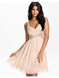 Little Mistress Lace Insert Prom Dress