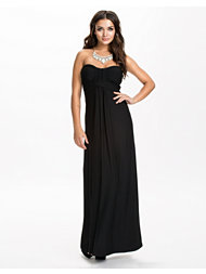 Ax Paris Plain Strapless Maxi Dress