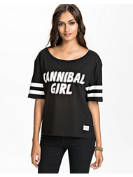 A Question Of Cannibal Girl Boxy Tee