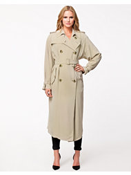 DKNY Long Length Trench