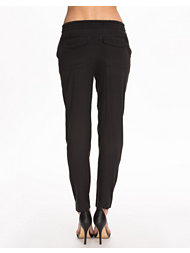 T By Alexander Wang Washed Silk Charmeuse Track Pants