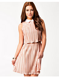 Lili London Collar Pleated Dress