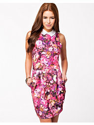 Lili London Tulip Skirt Collar Dress