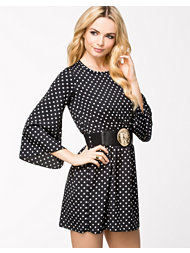 Lili London 1 Coin Belt Shift Dress