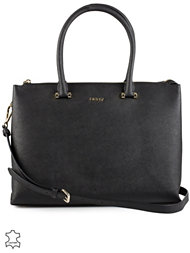 DKNY LG Top Zip Shopper