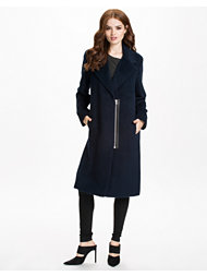 T By Alexander Wang Mohair Alpaca Wool Long Coat