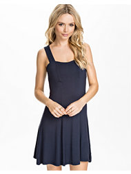 Catwalk88 Navy Skater Dress