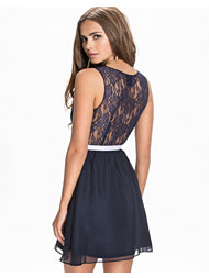 Catwalk88 V-cup Skater Dress