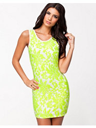 Oneness Neon Ornate Bodycon Dress