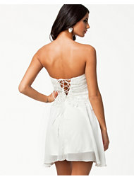 Oneness Lace Up Back Dress