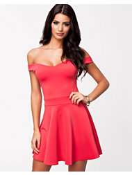 Oneness Off Shoulder Skater Dress