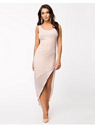 Oneness Curved Side Slit Dress