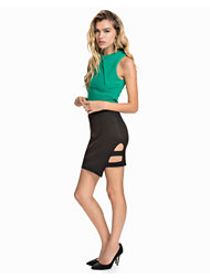 Oneness Side Strap Mini Skirt