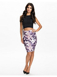 Oneness Printed Pencil Skirt