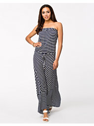 South Beach Diana Stripe Beach Dress