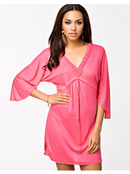 South Beach Latisha kaftan With Macrame Neckline