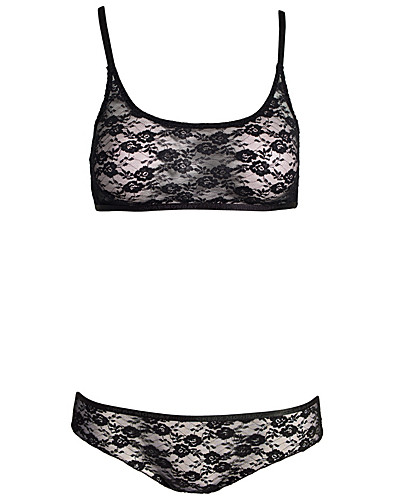 BH & TOPPAR - CHEAP MONDAY / LACE RACER BACK TOP - NELLY.COM