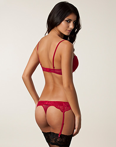 HELA SET - WONDERLAND / LACE BRA THONG BELT SET - NELLY.COM