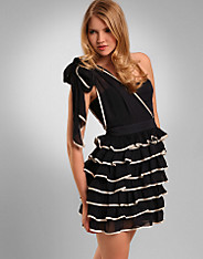 Ruffle Asym Dress