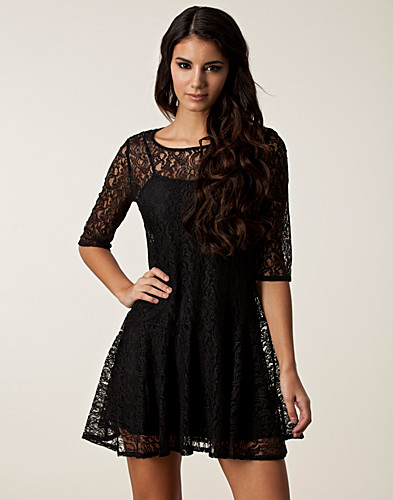 FESTKLÄNNINGAR - FRENCH CONNECTION / GIGLIOLA LACE DRESS - NELLY.COM
