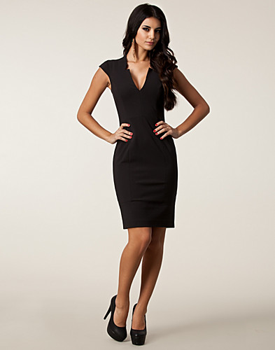 FESTKLÄNNINGAR - FRENCH CONNECTION / ALMONDO STRETCH DRESS - NELLY.COM