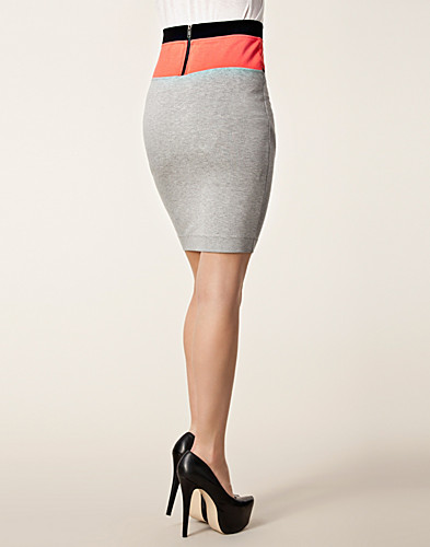 KJOLAR - FRENCH CONNECTION / MANHATTAN BLOCK PENSKIRT - NELLY.COM