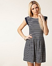 COUNTY STRIPE FLARED DRESS