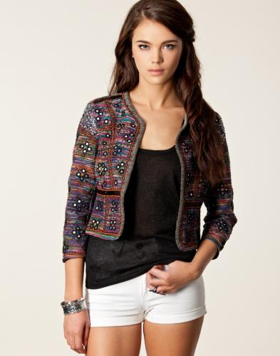 sable stripe jacket