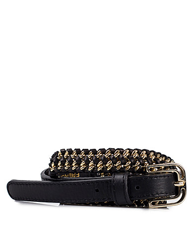 ACCESSOARER ÖVRIGT - FRENCH CONNECTION / METAL WEAVE BELT - NELLY.COM