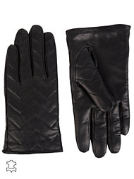 French Connection Quilted Gloves