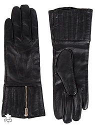 French Connection Zipped Up Gloves