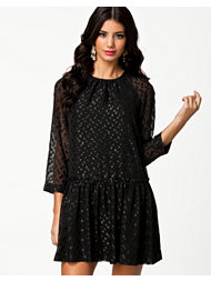 French Connection Polka Sparks L/S Dress