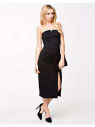 French Connection San Diego Drape Strapless Maxi Dress