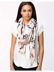 French Connection Gem Lily Collage Scarf