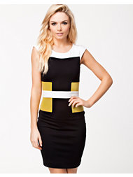French Connection Manhattan Colorblock Dress
