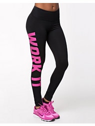 NLY SPORT Sporty Printed Tights