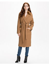 French Connection Imperial Wool Belted Maxi Coat