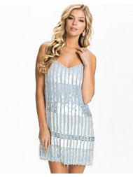 French Connection Siberian Sequin Strappy Vnk Dress