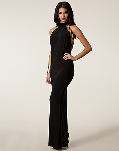 FESTKLÄNNINGAR - HONOR GOLD / SACHA MAXI DRESS - NELLY.COM