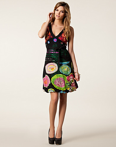 DRESSES - DESIGUAL / SOLES DRESS - NELLY.COM