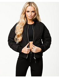 Fanny Lyckman For Estradeur Black Sky Bomber Jacket