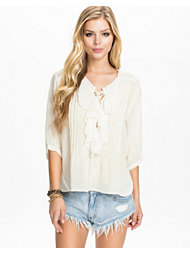 Denim & Supply Ralph Lauren Ruffled Poet Top