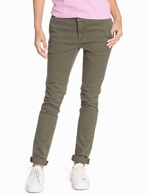 Brooke Skinny Chino Pants