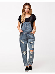 One Teaspoon Cobain Awesome Overall