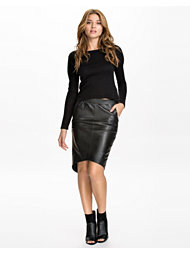 One Teaspoon Awsome Leather Skirt
