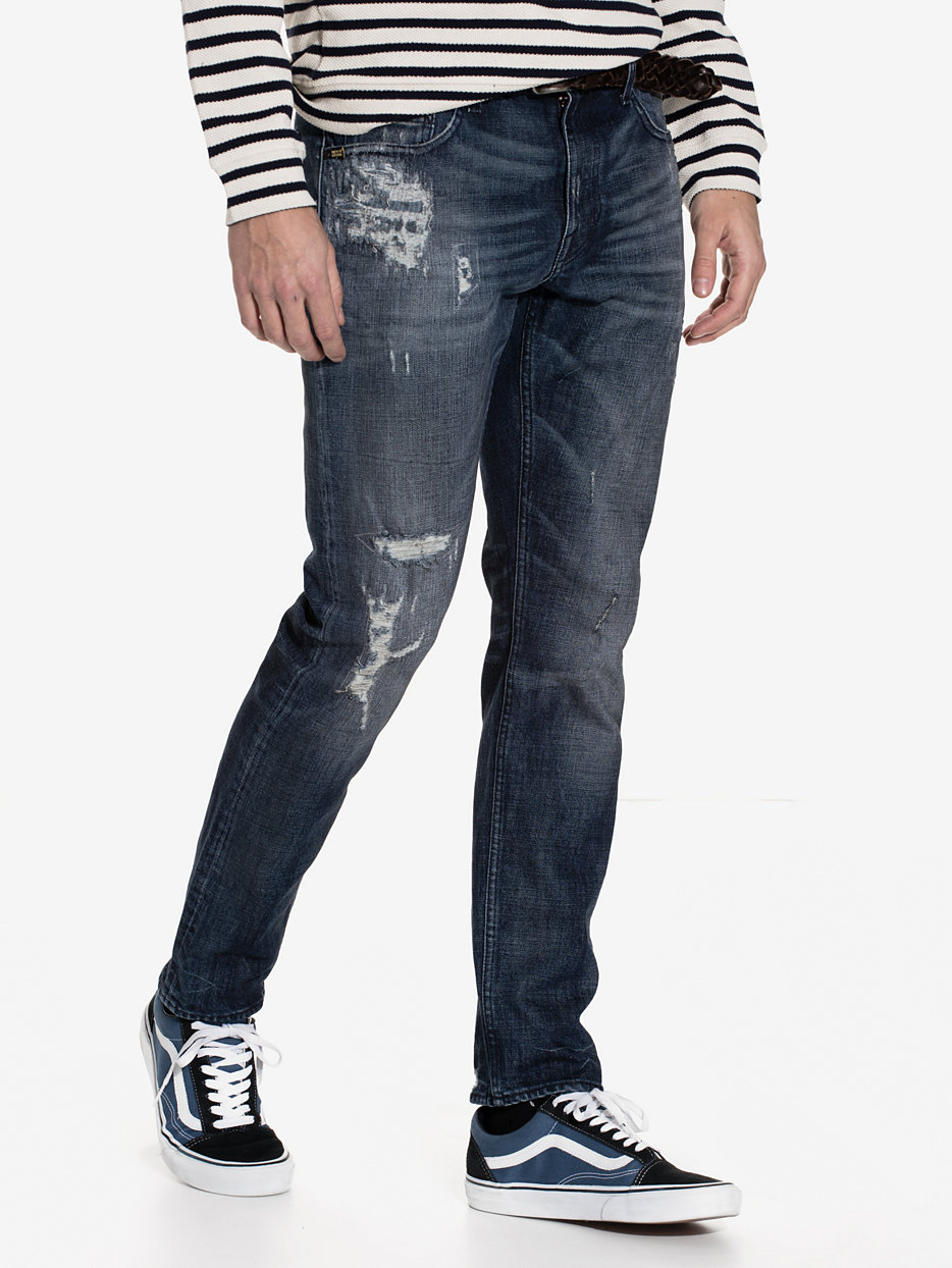 pistolero tiger of sweden jeans dusty blue jeans. Black Bedroom Furniture Sets. Home Design Ideas