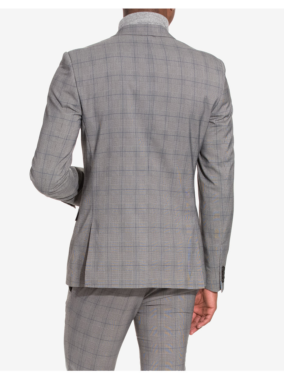 Check Ultra Skinny Fit Suit Jacket