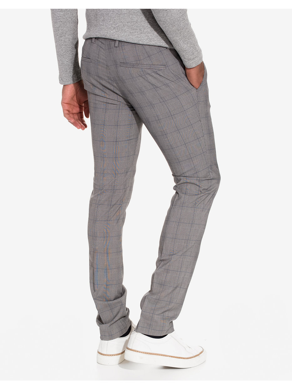 Check Ultra Skinny Fit Trousers
