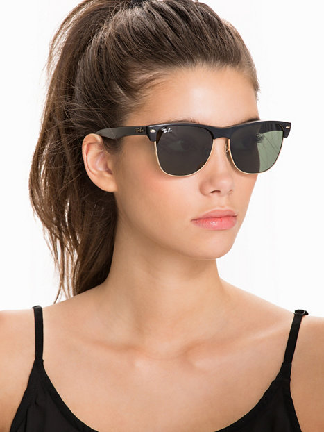 c6927fb7053 Rb 4175 Clubmaster - Ray Ban - Black Green - Sunglasses - Accessories -  Women